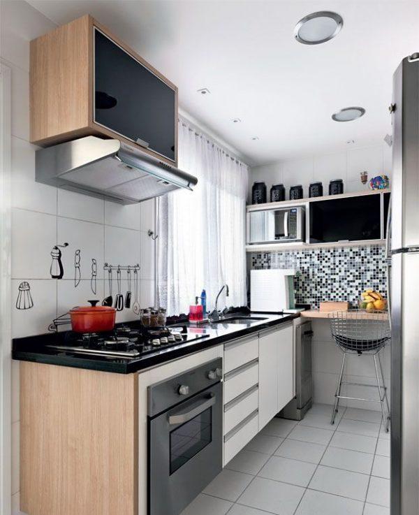 мозаика на кухне хрущёвке