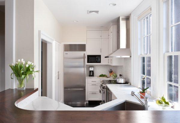 совмещение гостиной с кухне в хрущёвке