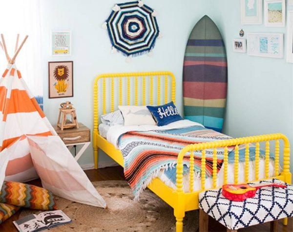 палатка для детской в морском стиле