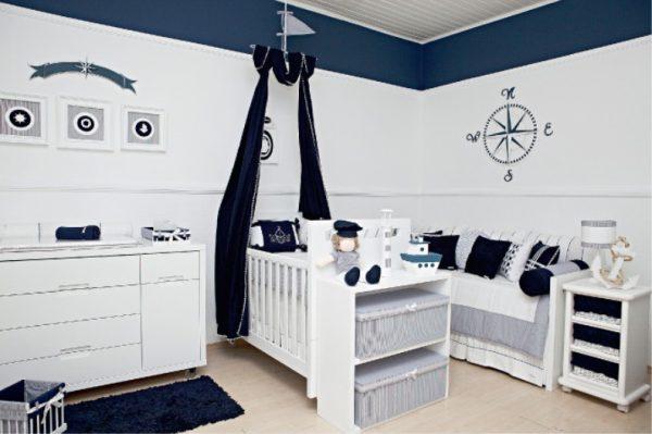 кровать с балдахином для детской мальчика