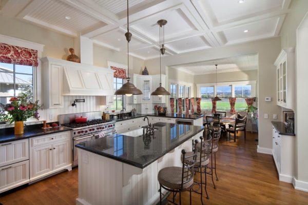 шторы для кухни римские и занавески