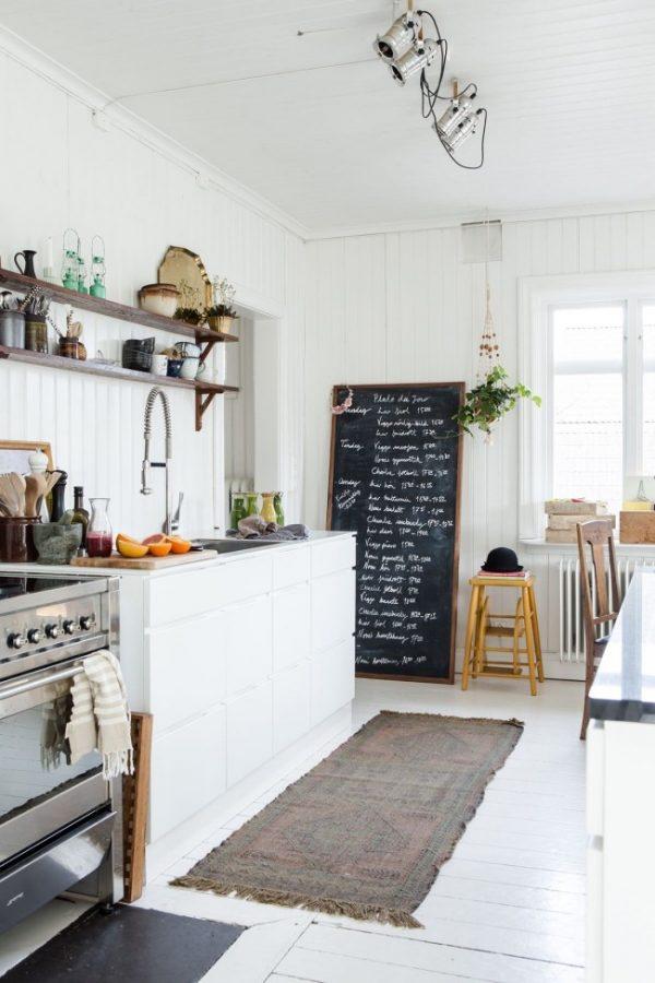 доска для рисования на кухне