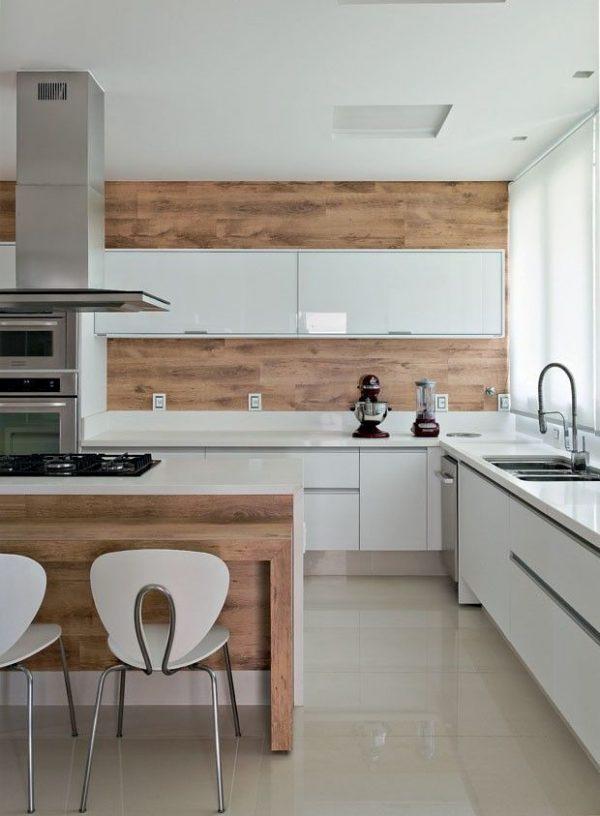 вытяжка в интерьере современной кухни