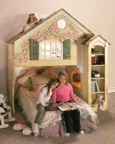 домик в детской для девочек