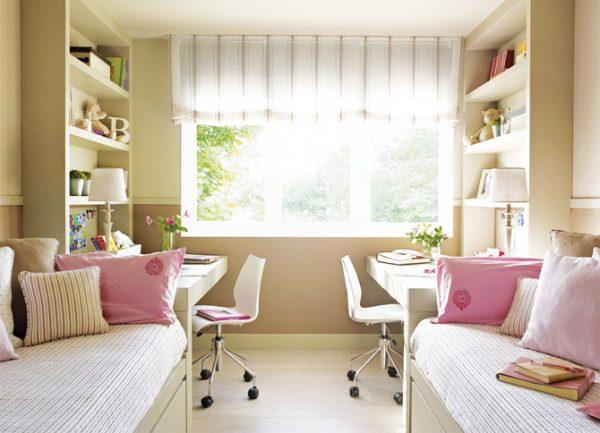 столы для девочек в детской