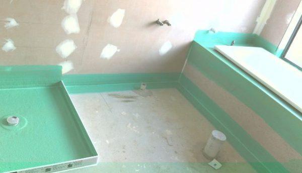 гидроизоляция углов в ванной