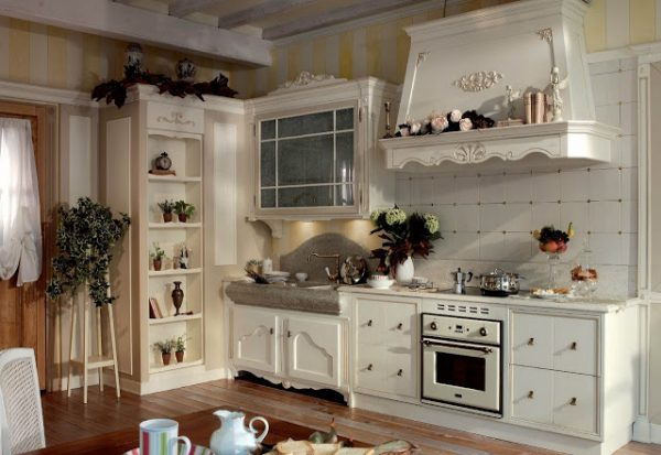 оформить кухню в стиле прованс