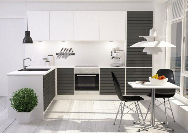 стиль модерн на современной кухне