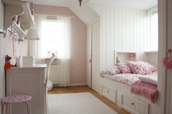 полупрозрачные шторы для детской комнаты