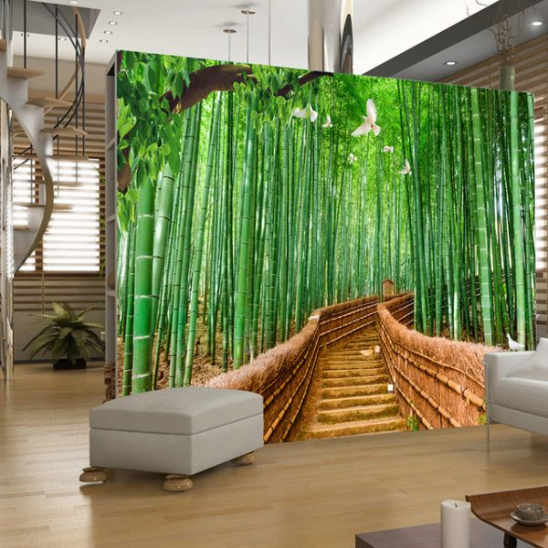 бамбуковый лес на фотообаях