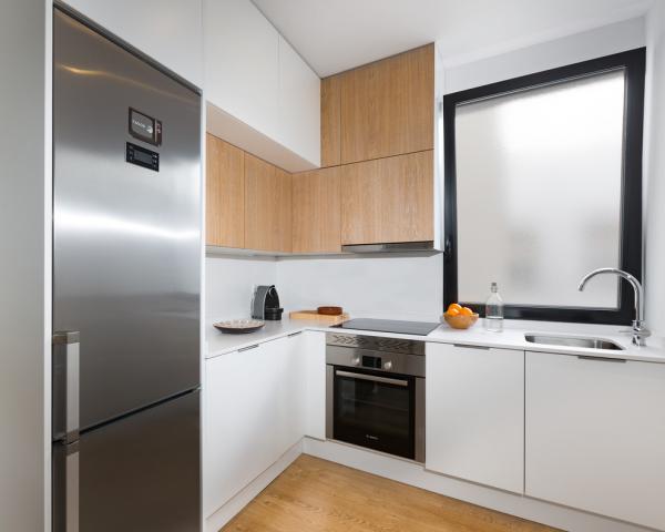 матовое окно на кухне