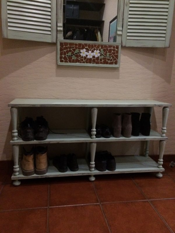 комод для обуви в стиле кантри