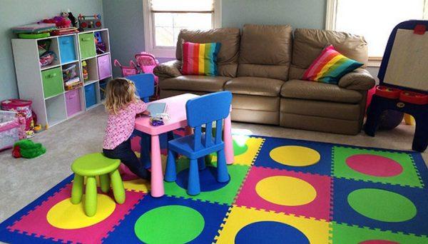 полы в детской комнате