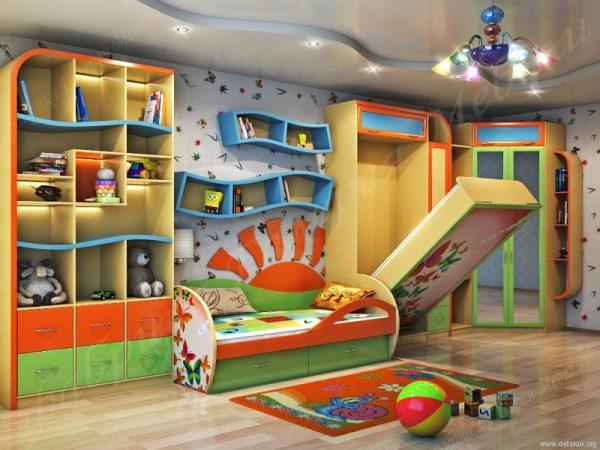 детская комната для двух мальчиков 3-4 года