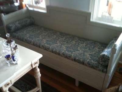 кухонный диван с ящиком