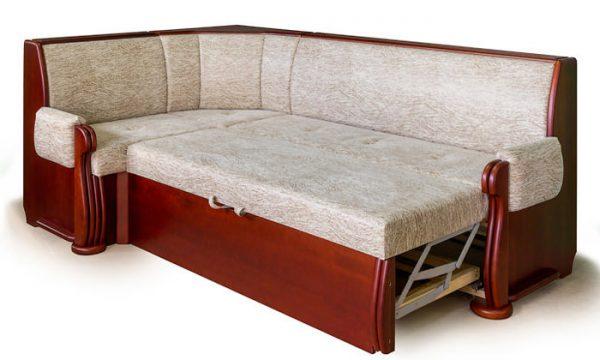 кухонный диван из велюра