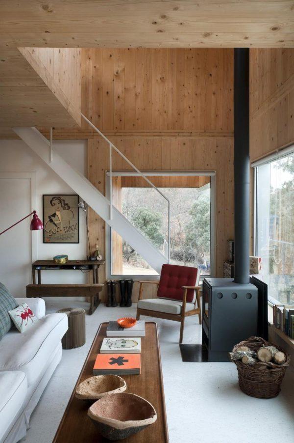 отделка ламинатом потолка и стен прихожей