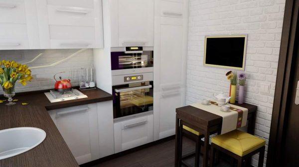 -кухня-в-частном-доме
