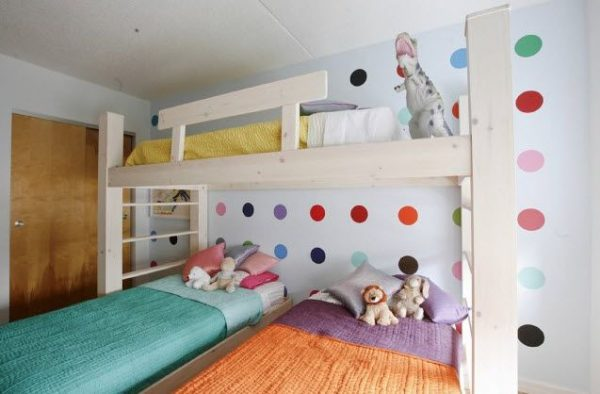 0f16b773071641e73f2afc560f516e6b-triplets-bedroom-awesome-bunk-beds
