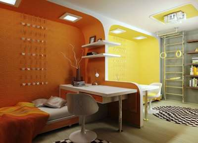 Корпусная мебель значительно экономит пространство детской, если использовать следующие варианты:.