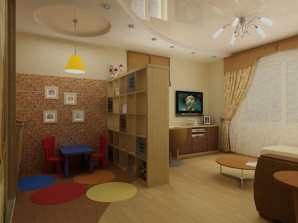 dizajn-gostinoj-detskoj-s-razdvizhnymi-steklyannymi-panelyami55