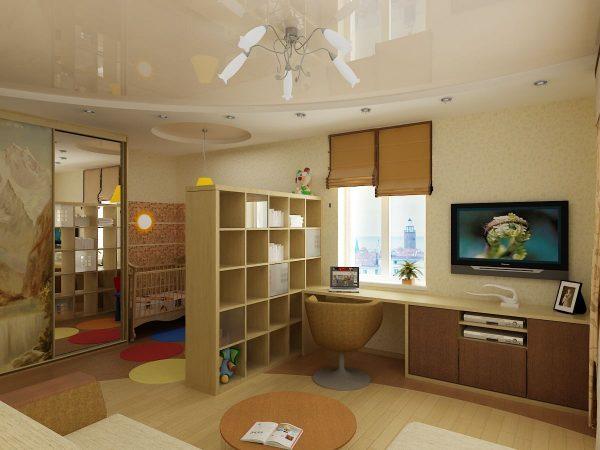 dizajn-gostinoj-detskoj-s-razdvizhnymi-steklyannymi-panelyami56