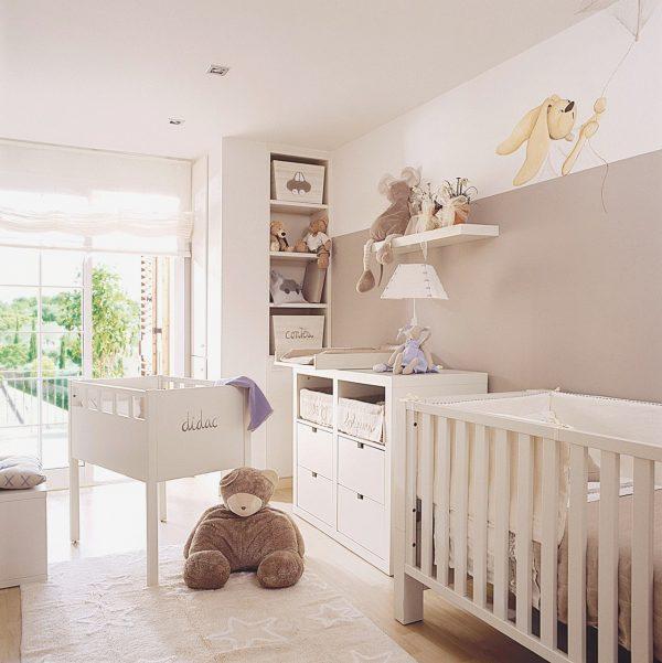 lujo-habitacion-bebe-beige-buscar-con-google-of-habitacion-infantil-pequena