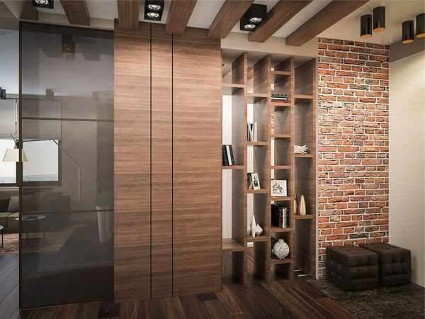 oformlenie-prihozhey-v-stile-loft