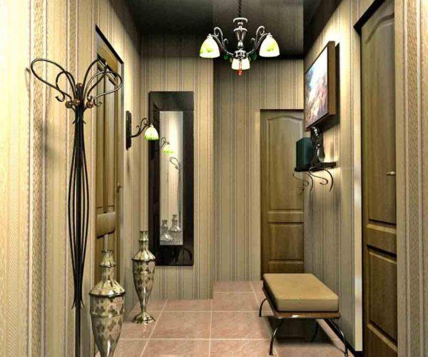 vintazhnye-oboi-v-koridore