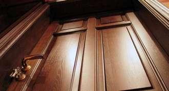 Входные дубовые двери