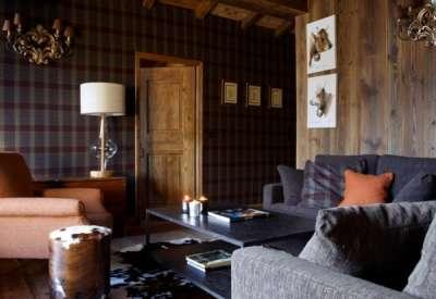 Шотландский стиль в интерьере — особенности, примеры, фото