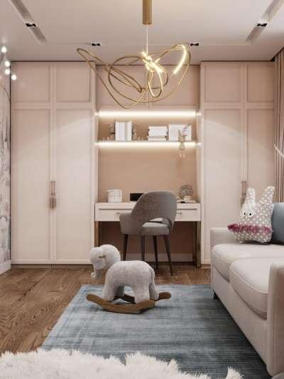 Дизайн детской комнаты 9 кв м для девочки: отделка, декор, зонирование, фото интерьеров