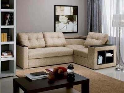 Угловой диван со спальным местом для ежедневного сна