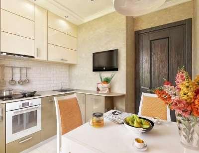 Дизайн кухни 9 м кв — варианты зонирования, стиль, фото