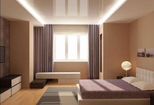 Дизайн маленькой спальни в стиле модерн