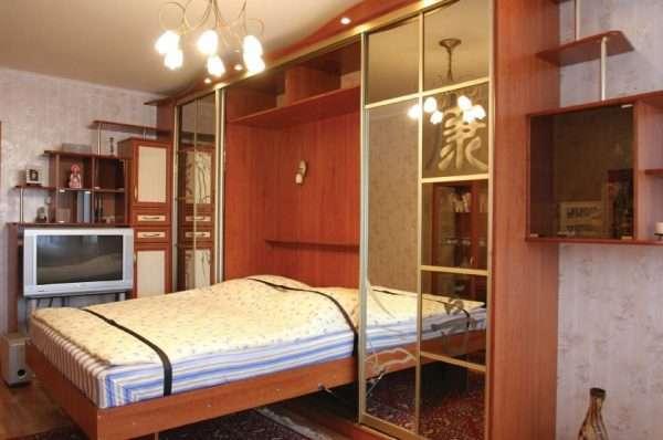 Встраиваемая кровать для спальни 12 м