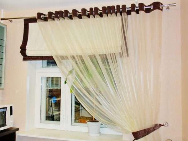 Дизайн римских штор для спальни