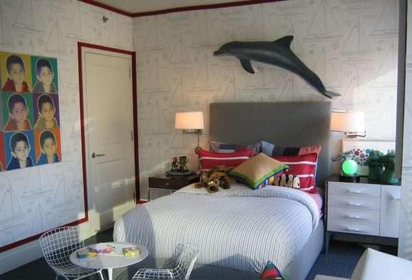 Интерьер спальни для мальчика подростка