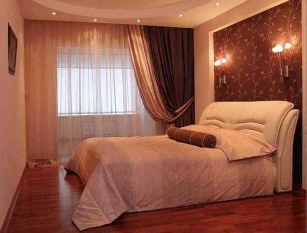 Бра и светильники - дополнительный источник света в спальне