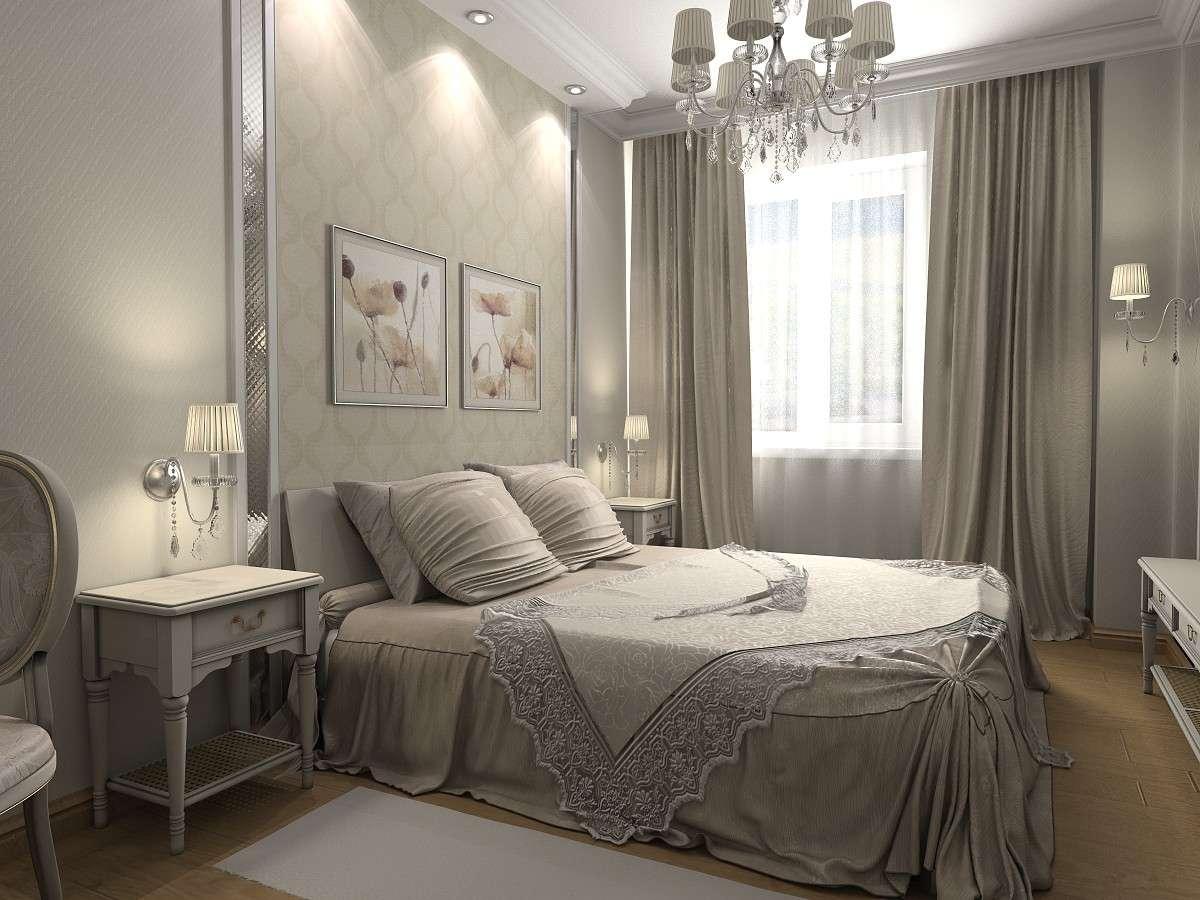 Дизайн интерьера спальная