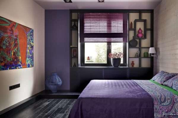 Стиль фьюжн в дизайне спален