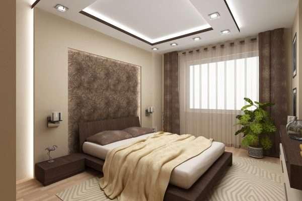 Современный стиль в дизайне спальни