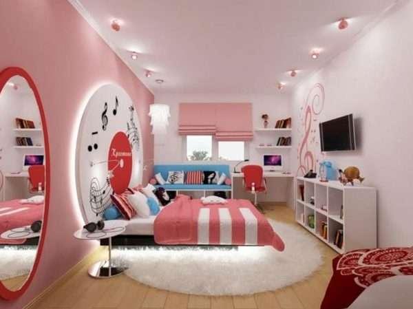 Дизайн спальни для девочки-подростка 15 лет