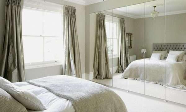 Зеркала в дизайне спальни 3 на