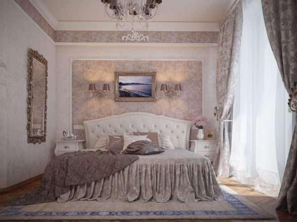 Дизайн спальни классика: основные акценты стиля.