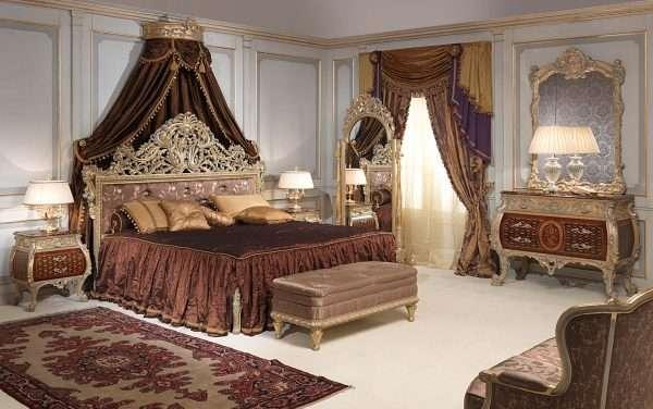 Текстиль для спальни в классическом стиле