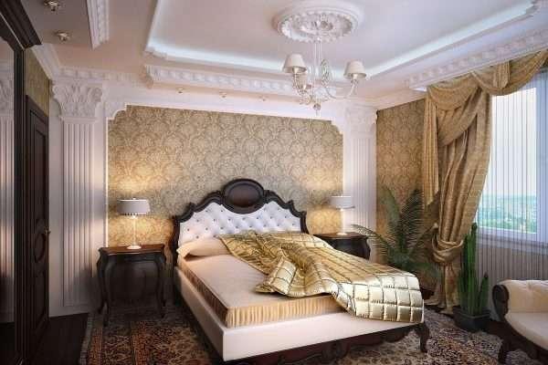 Классический стиль в дизайне спальни