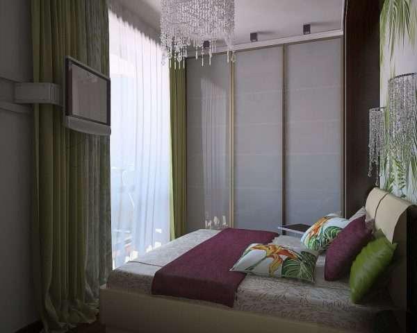 Подбираем мебель для спальни 12 м