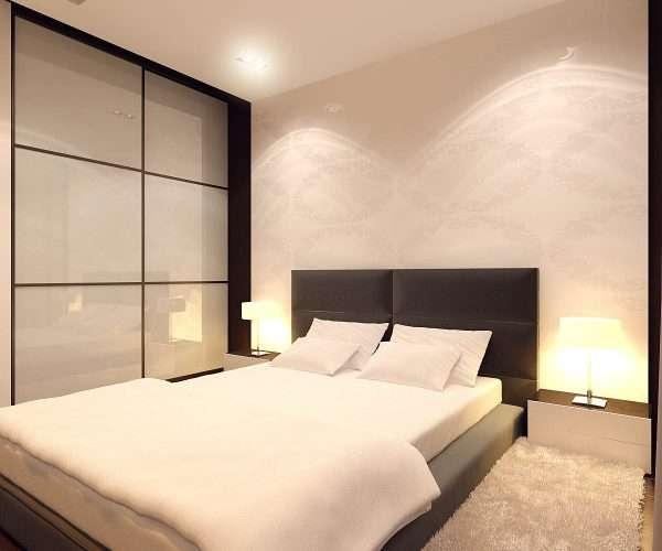 Дизайн маленькой спальни в стиле минимализм