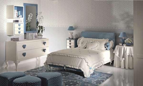 Уютный дизайн спальни для девочки